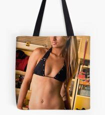 Ally in Garage Tote Bag