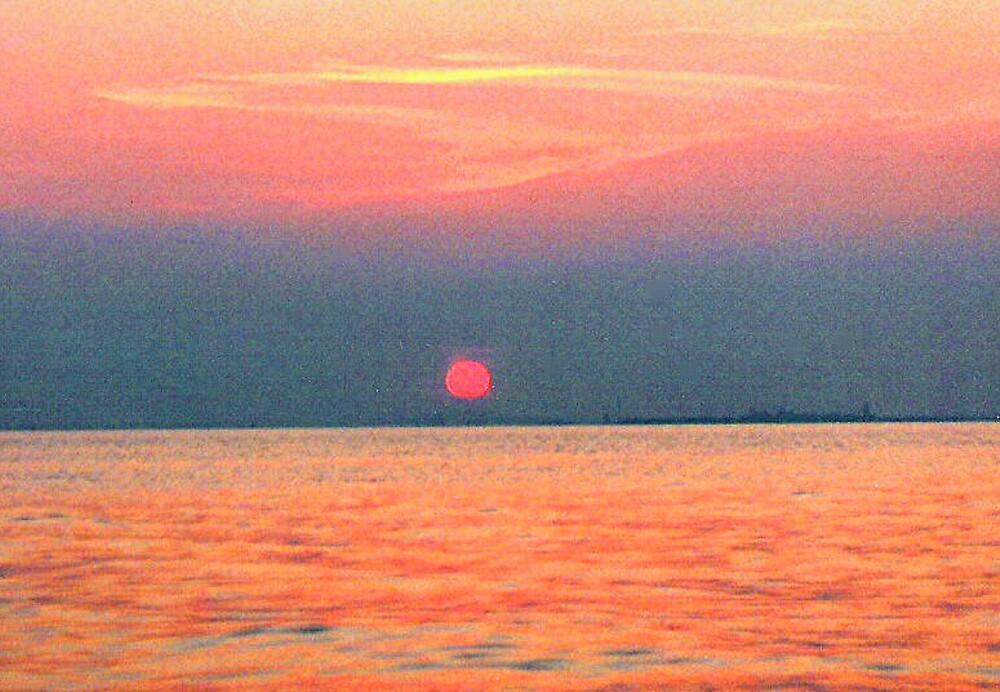 Chesapeake Sunset by drumsandkeys