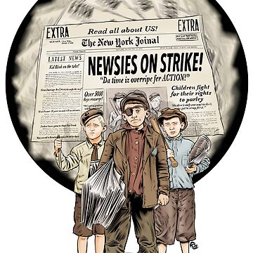 The Dollop - The Newsies by MrFoz