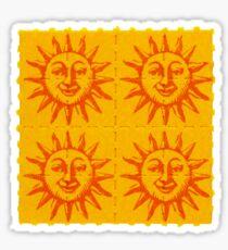 Orange Sunshine Sticker