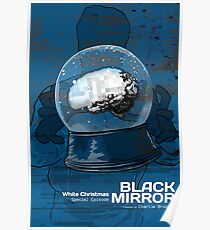 Black Mirror - White Christmas Poster