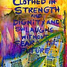 Being Clothed in STRENGTH by © Angela L Walker