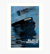 Black Mirror S03E02 - Playtest Art Print