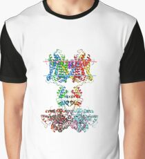 This giant biological molecule is an ion channel Graphic T-Shirt