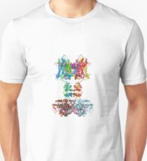 This giant biological molecule is an ion channel Unisex T-Shirt