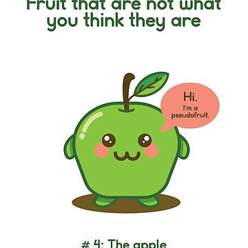 Fruit That Are Not What You Think They Are: The Apple by venturevictrix