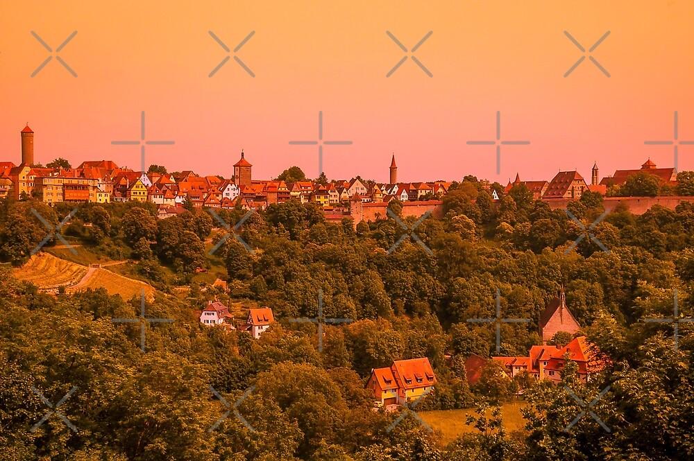 Rothenburg ob der Tauber, Bavaria by SusanAdey