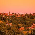 Rothenburg ob der Tauber, Bavaria by SusanAdey