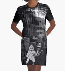 ROSEMARIE - black Graphic T-Shirt Dress
