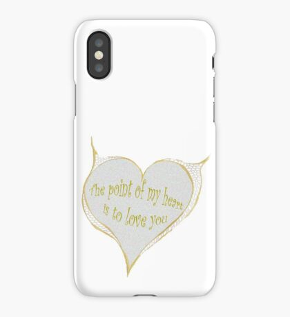 Hearty Greeting iPhone Case/Skin