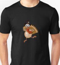 Thanksgiving Turkey Pilgrim!!! Slim Fit T-Shirt