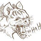 Hahaha Hyena by Extreme-Fantasy