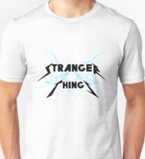 Camiseta unisex Stranger things estilo Metallica