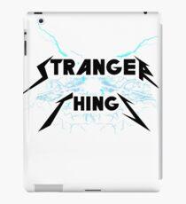 Stranger things Metallica style iPad Case/Skin