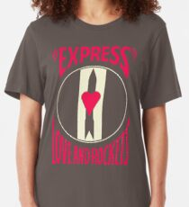 BIG SALE HY993 Express Love And Rockets Best Product Slim Fit T-Shirt