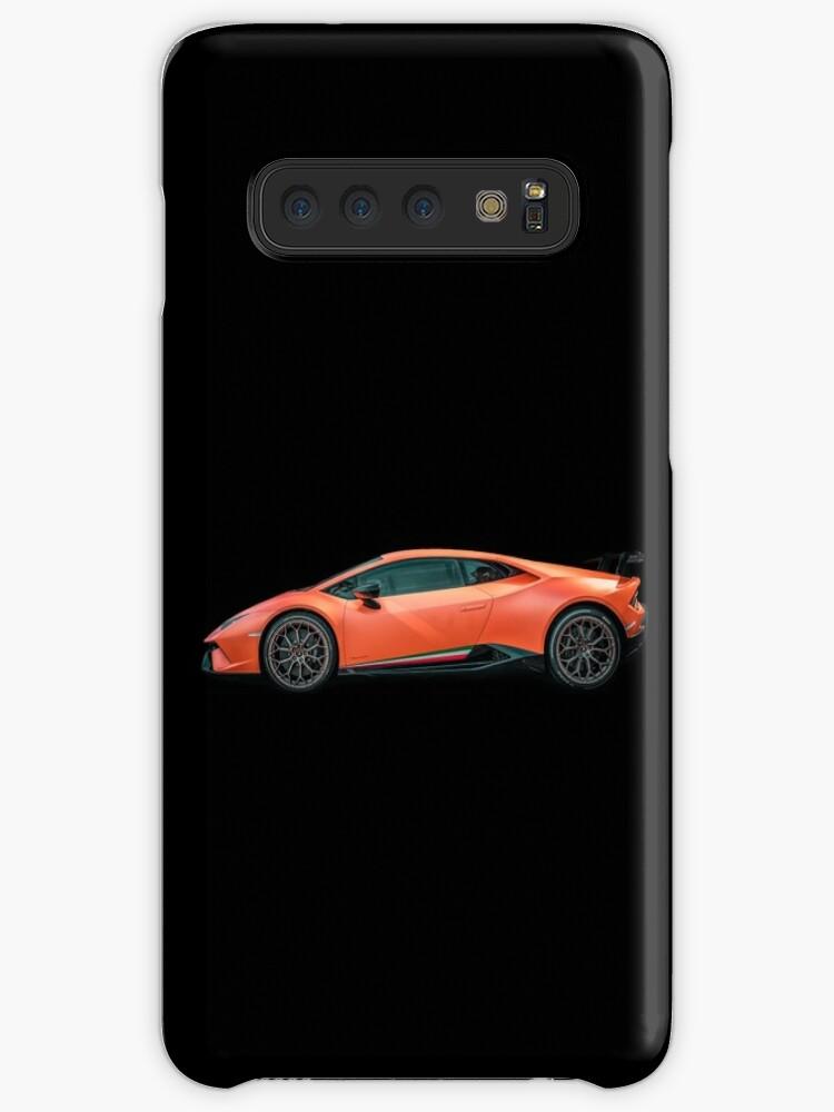 Lamborghini Huracan Performante Black Background Cases Skins For