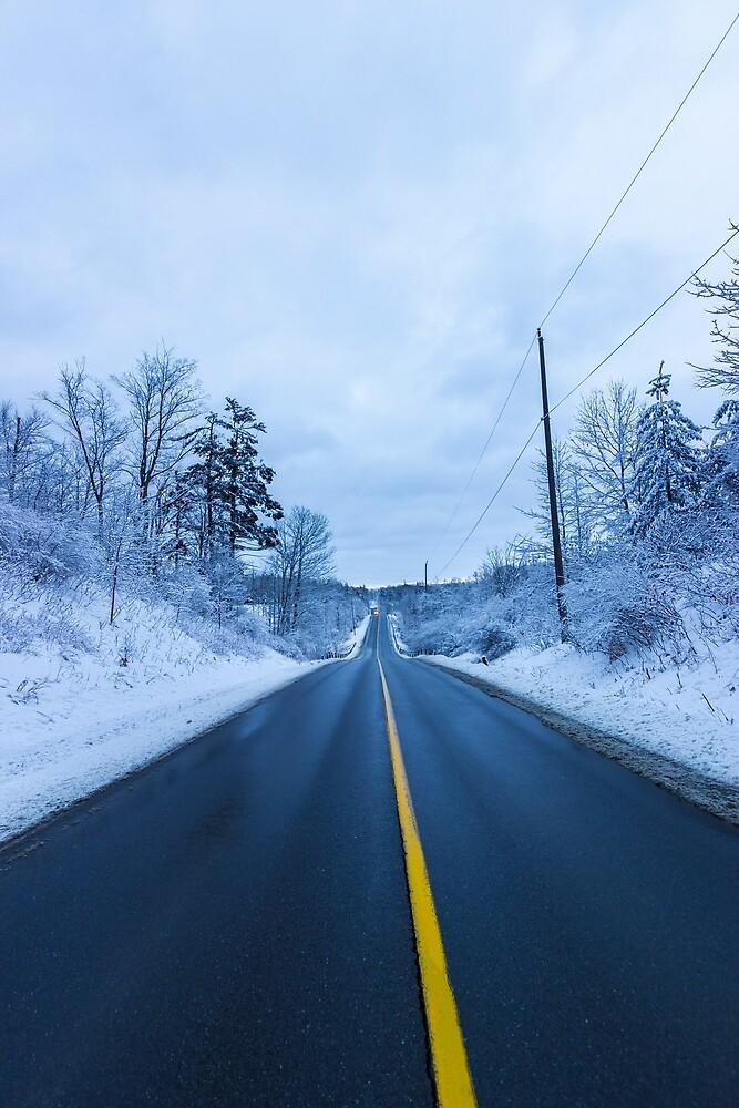 Winter Road by John Velocci