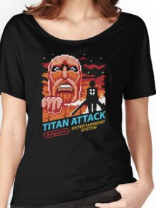 Titan Attack Women's Relaxed Fit T-Shirt