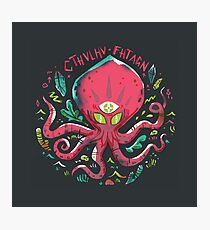 Cthulhu Fhtagn Photographic Print