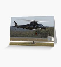 Navy Rescue Greeting Card