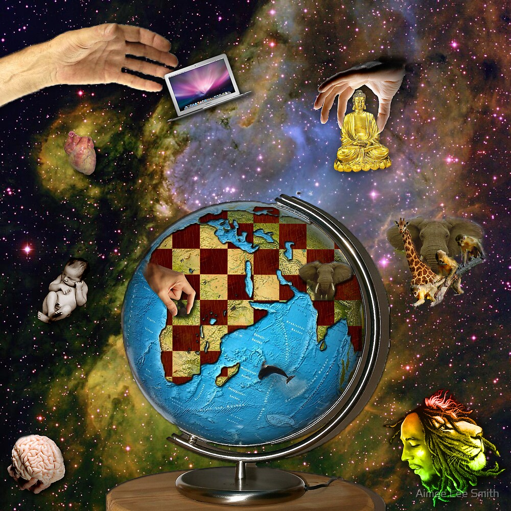 The World Is Your Chess Board, How Will You Play It? by Aimee Lee Smith