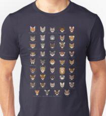 Cat Species Shirt Slim Fit T-Shirt