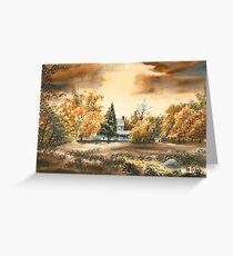 Dorothy Reese Home - After Rain Greeting Card