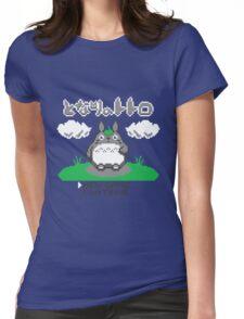 8-Bitoro Womens Fitted T-Shirt