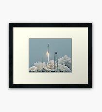 Launch Framed Print