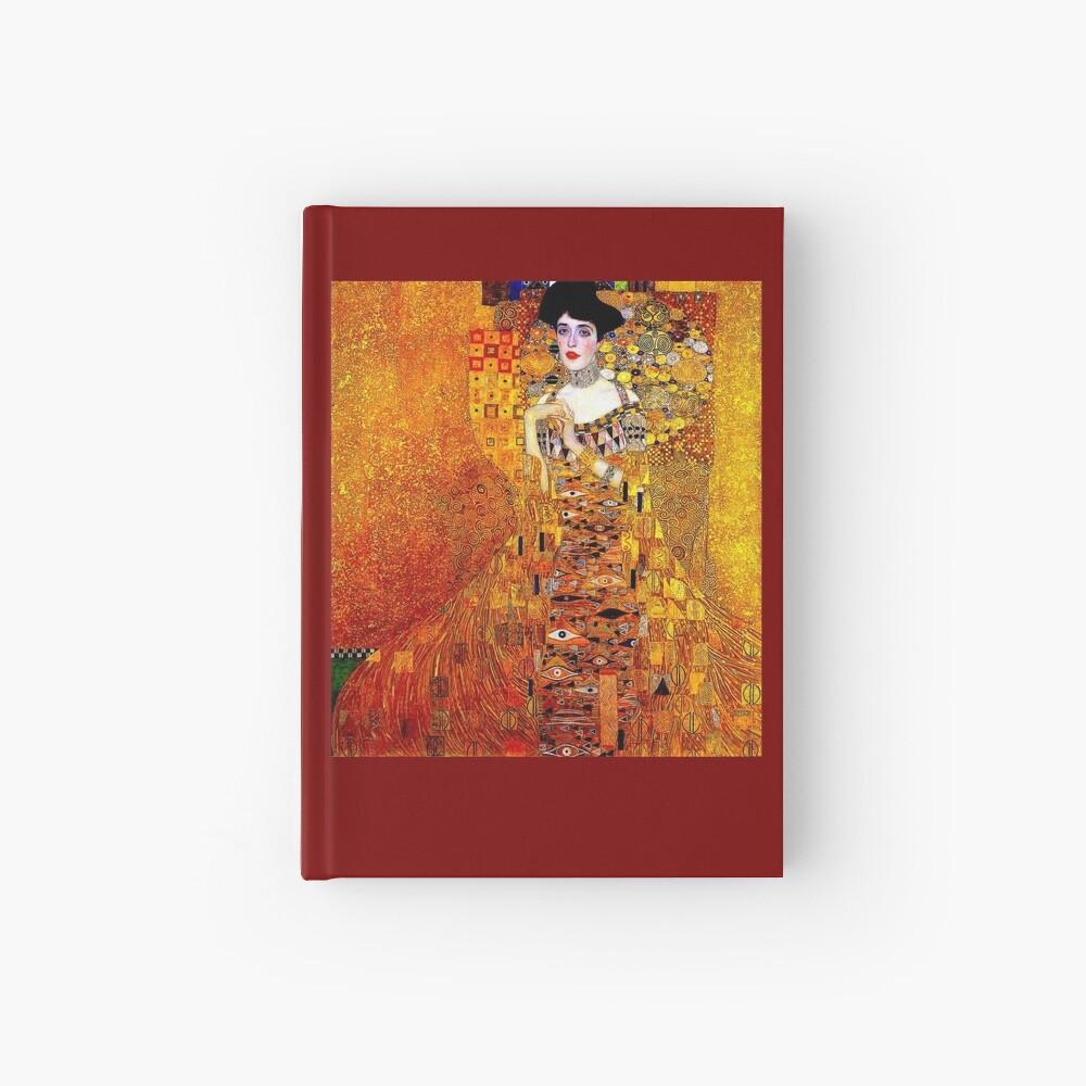 DAME IN GOLD: Gustav Klimt - Hochauflösender Druck von 1912 Notizbuch