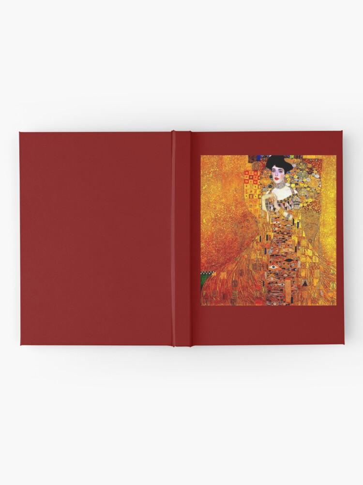 Alternative Ansicht von DAME IN GOLD: Gustav Klimt - Hochauflösender Druck von 1912 Notizbuch