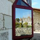 Reflection of Monbazillac Castle by 29Breizh33
