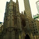 St. Patrick's Cathedral - New York by clarebearhh