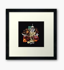 Migos Culture EVERYTHING! Framed Print