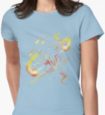 fire dancer Women's Fitted T-Shirt