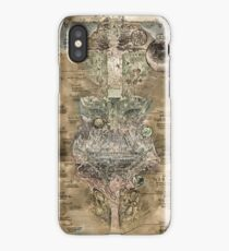 Made In Abyss Colorized & Clean Map Extremely High Quality iPhone Case/Skin