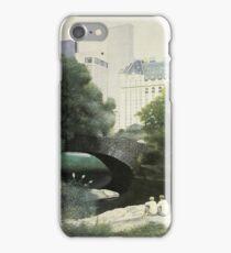 Summer Days(Central Park-New York City) iPhone Case/Skin