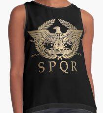 Blusa sin mangas SPQR- Escudo Estándar del Imperio Romano