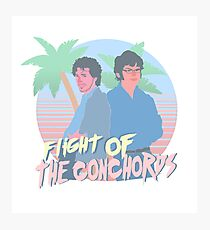 Flight Of The Conchords 80s vibes Photographic Print