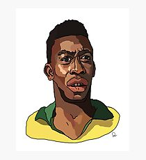 Pelé Photographic Print