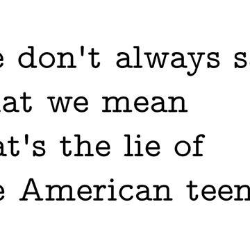 Khalid American Teen Lyrics by Sylviebinder