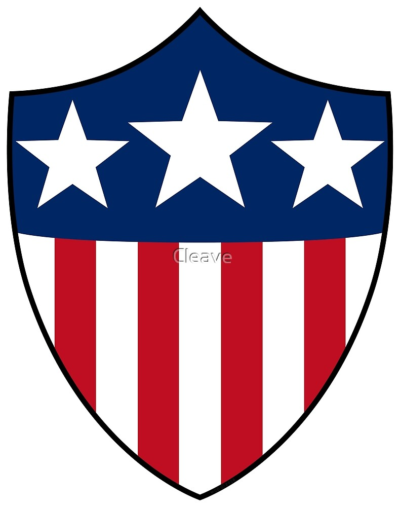 USA Patriotic Shield by Cleave