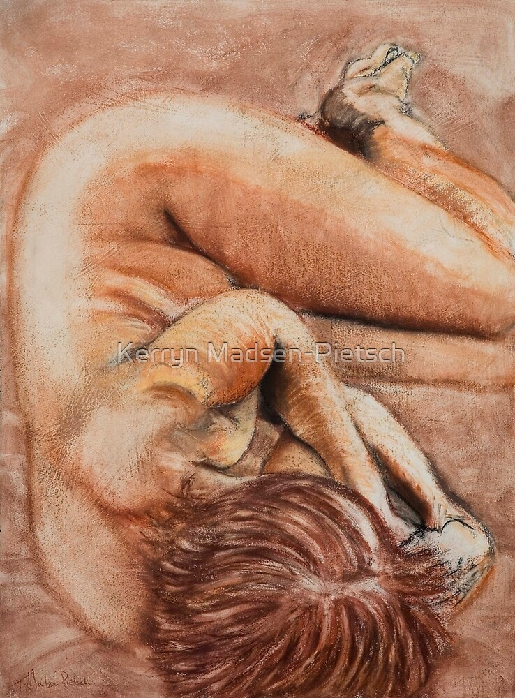Slumber Pose by Kerryn Madsen-Pietsch