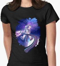 lost in infinity Women's Fitted T-Shirt