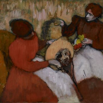 Original Edgar Degas French Impressionism Oil Painting Restored  the milliners by jnniepce