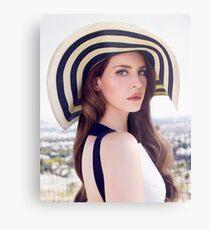 Lana Del Rey - Glamour Metal Print