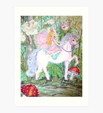 Fairy Forest Patrol Art Print