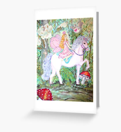 Fairy Forest Patrol Greeting Card