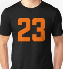 Orange Number 23 Unisex T-Shirt