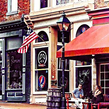 Fredericksburg VA - Outdoor Cafe by SudaP0408